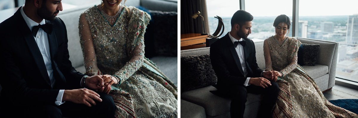 bride-groom Osama + Sanah | Centennial Park and JW Marriott Wedding