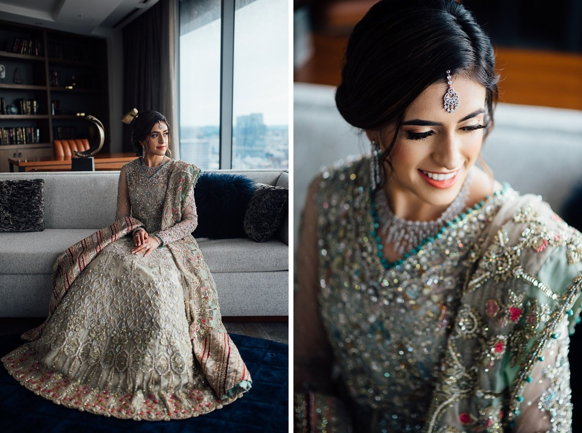 bride-indian-wedding Osama + Sanah | Centennial Park and JW Marriott Wedding