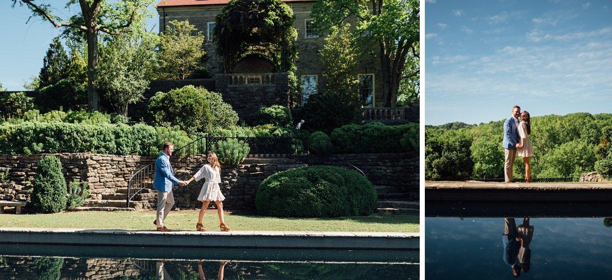 cheekwood-reflecting-pool Cheekwood Proposal - Truman + Alivia