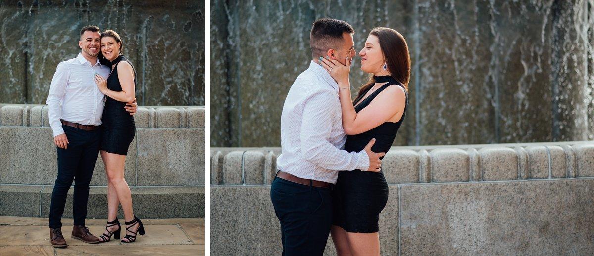 fountain-photos Jason and Alyssa Proposal   Downtown Nashville