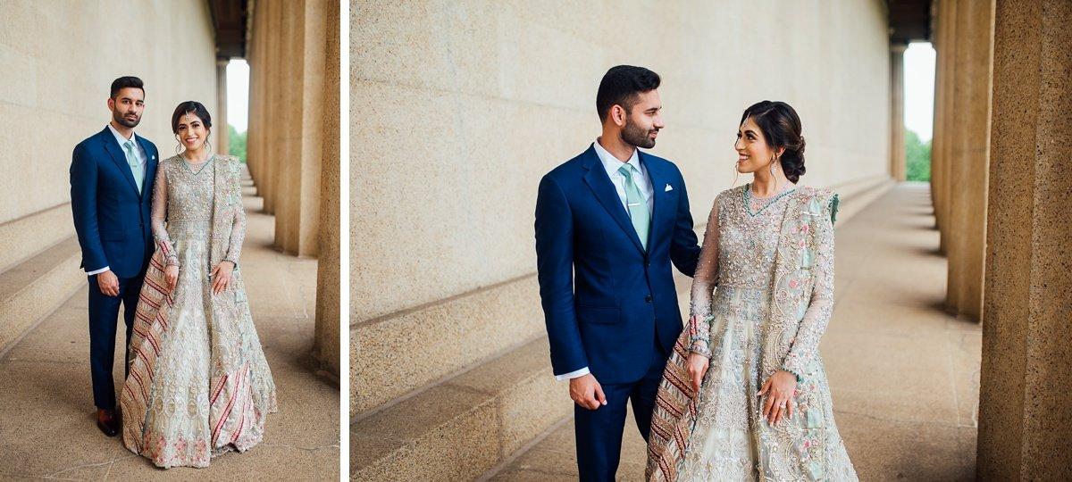 indian-wedding-portraits Osama + Sanah | Centennial Park and JW Marriott Wedding