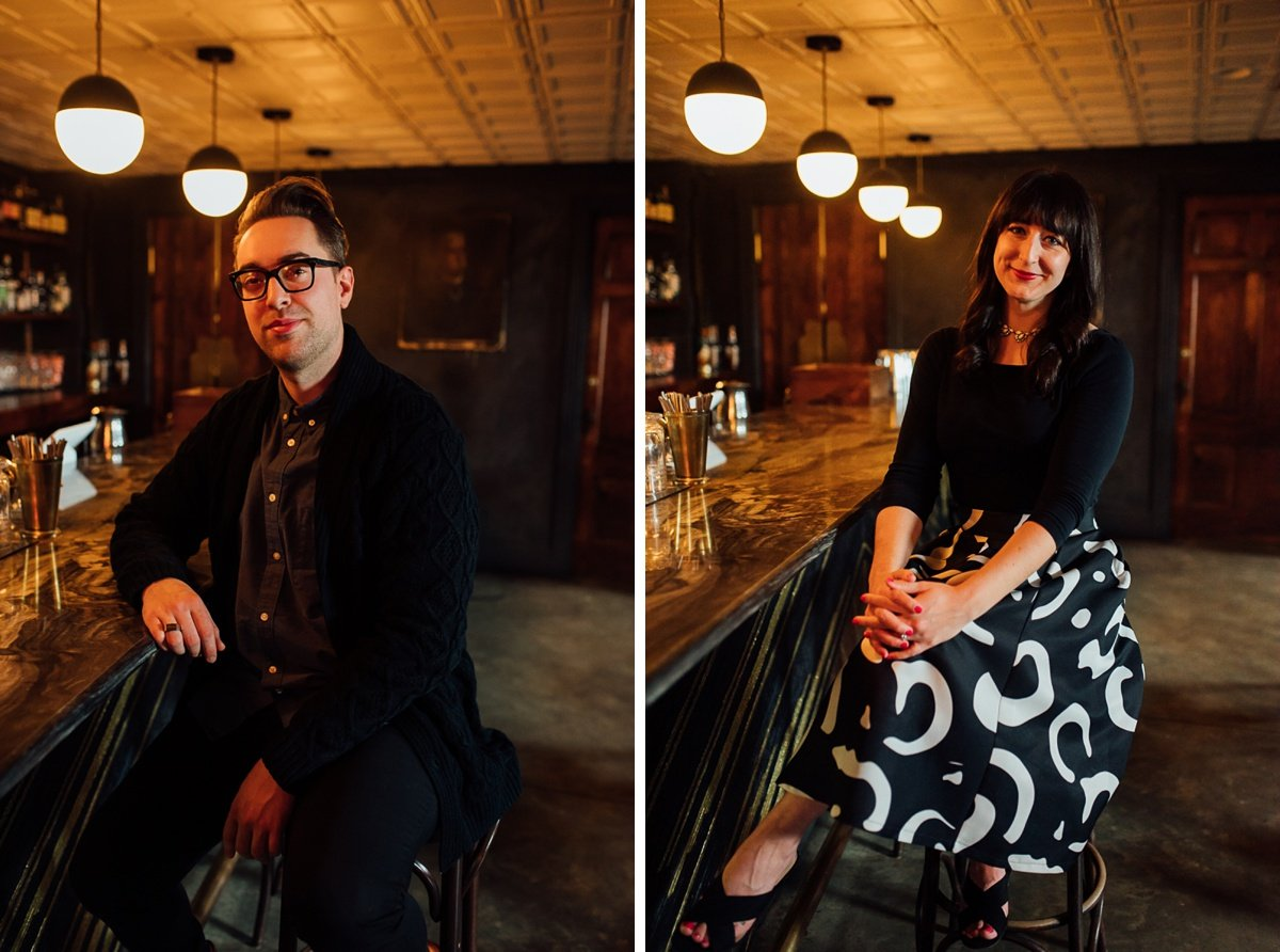 nashville-portraits East Nashville Bar Engagement Session | Fox Nashville