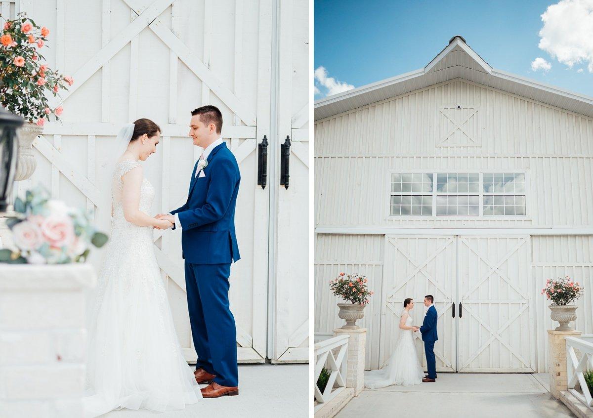 nashville-wedding-venues Laura + Robert | White Dove Barn Wedding