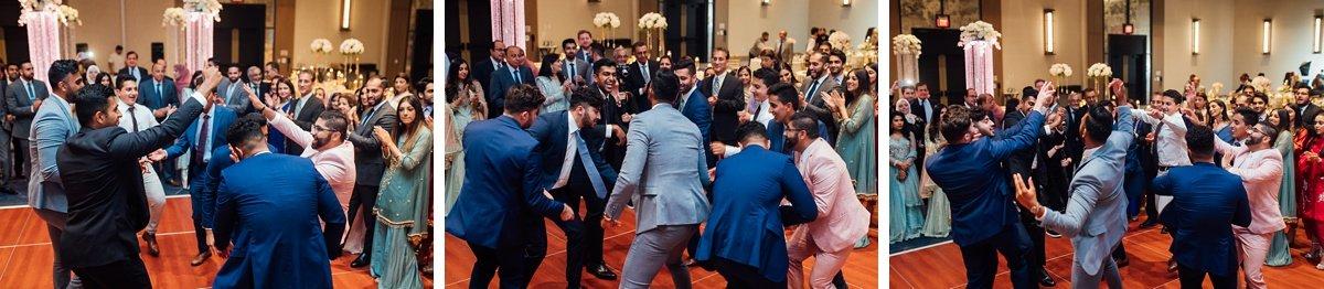 reception-dancing Osama + Sanah | Centennial Park and JW Marriott Wedding