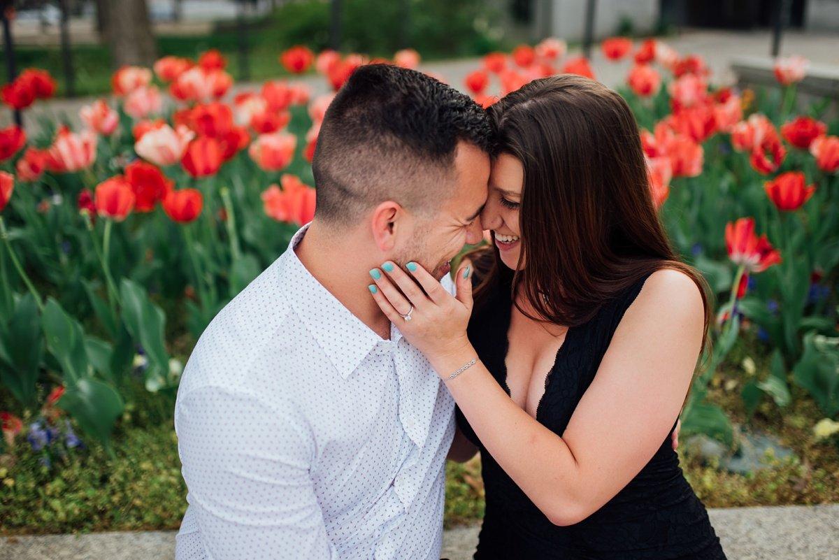 romantic-proposal-nashville Jason and Alyssa Proposal | Downtown Nashville