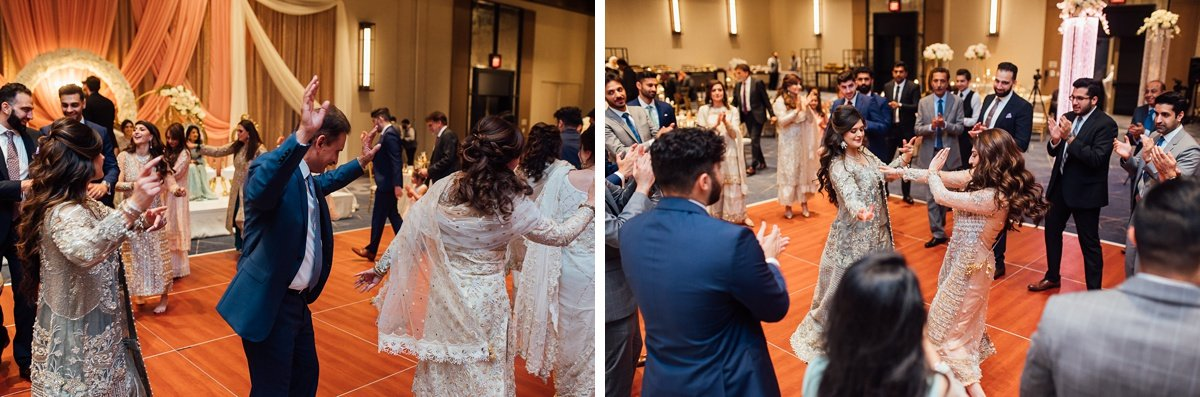 wedding-dancing Osama + Sanah | Centennial Park and JW Marriott Wedding