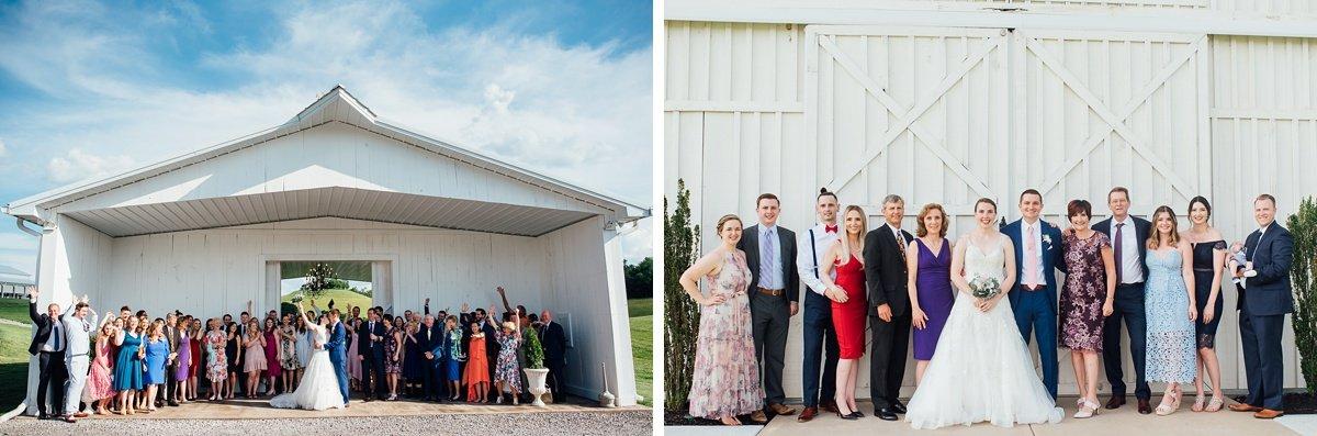 wedding-guests-fun-photo Laura + Robert | White Dove Barn Wedding
