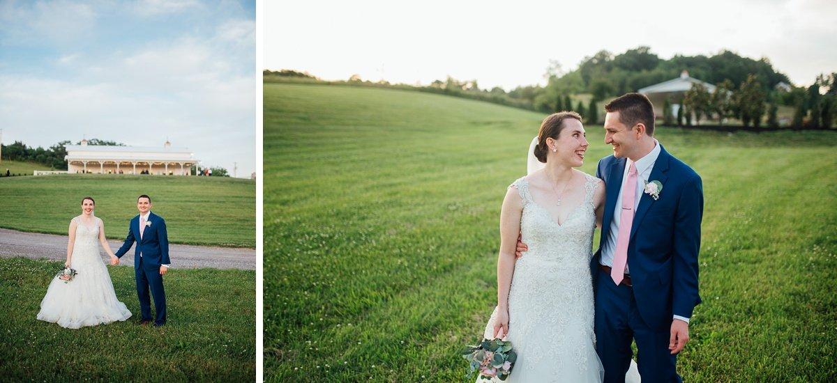 wedding-portraits-hillside Laura + Robert | White Dove Barn Wedding