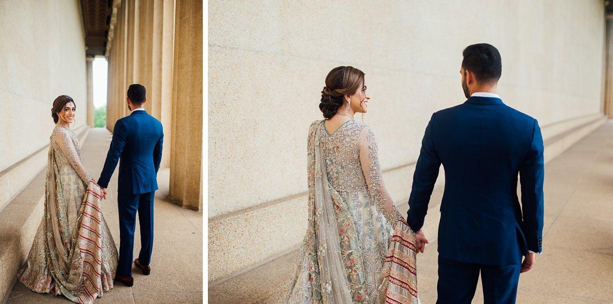 wedding-portraits Osama + Sanah | Centennial Park and JW Marriott Wedding