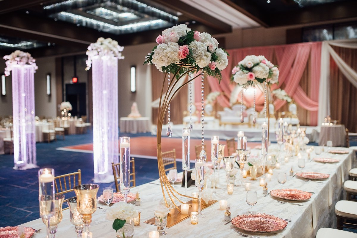 wedding-reception-lighting Osama + Sanah | Centennial Park and JW Marriott Wedding