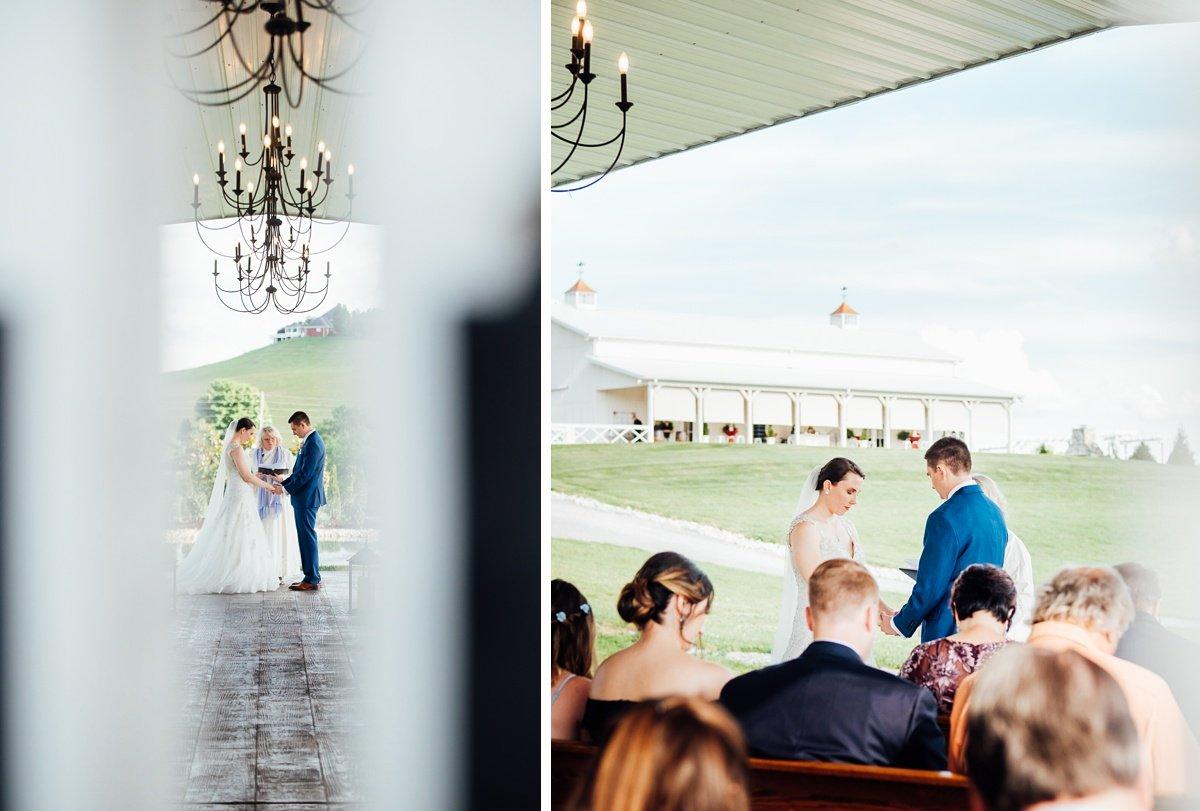 wedding-tennessee Laura + Robert | White Dove Barn Wedding