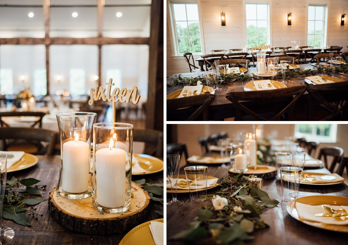 birchwood-tn-wedding-reception-details Jessica + Jethro   The Venue at Birchwood   Spring Hill, TN