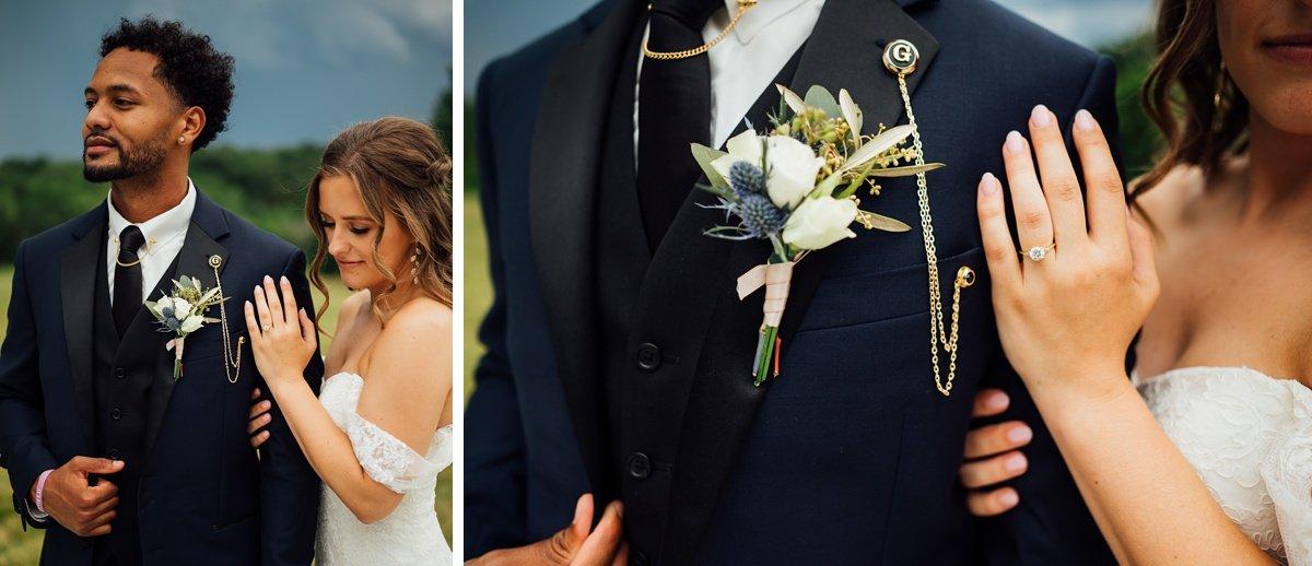 bride-groom-details Jessica + Jethro | The Venue at Birchwood | Spring Hill, TN