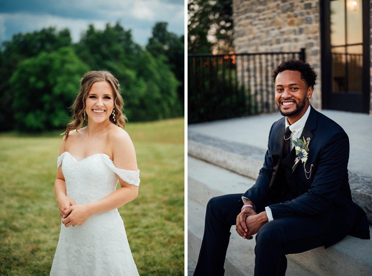 bride-groom-individiual-portraits Jessica + Jethro   The Venue at Birchwood   Spring Hill, TN