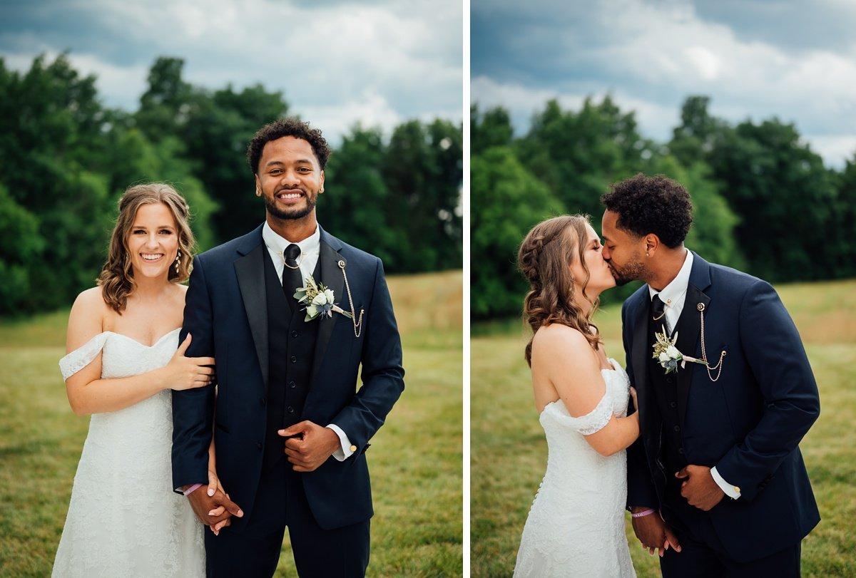 bride-groom-outdoor-portrait Jessica + Jethro | The Venue at Birchwood | Spring Hill, TN