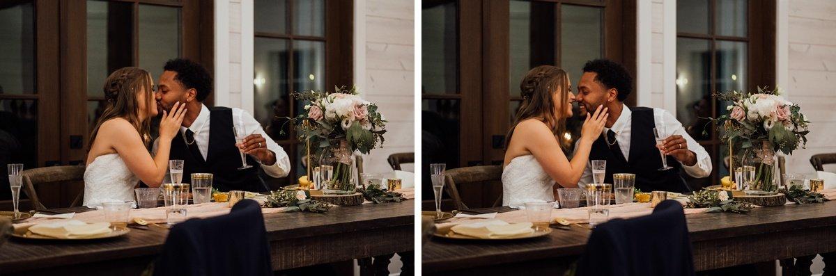 bride-groom-table Jessica + Jethro   The Venue at Birchwood   Spring Hill, TN