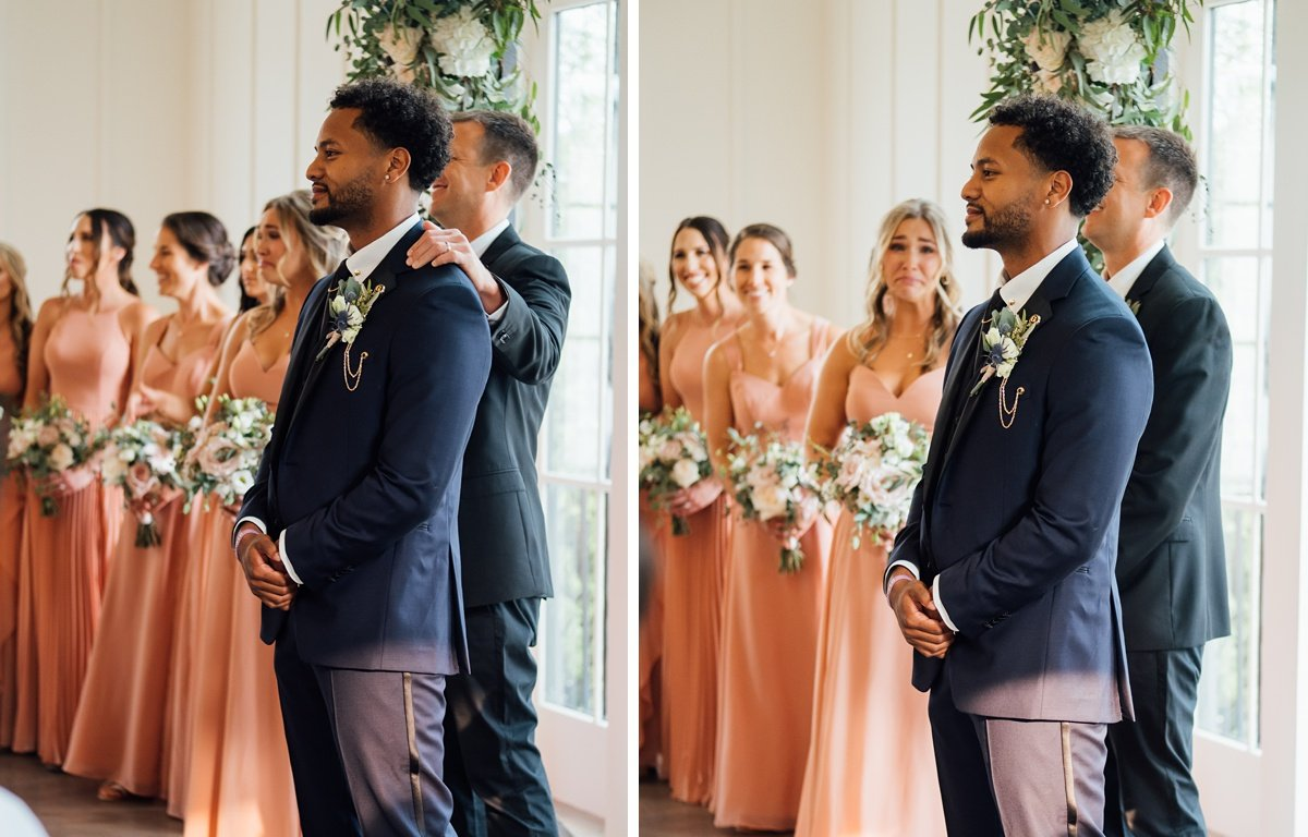 bridesmaids-crying Jessica + Jethro | The Venue at Birchwood | Spring Hill, TN