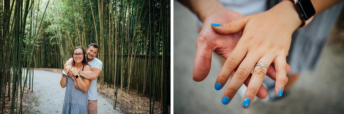 cheekwood-gardens-engagement Surprise Proposal at Cheekwood | Patrick and Corrina