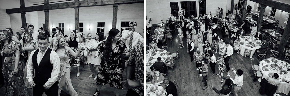 dancing-reception Jessica + Jethro   The Venue at Birchwood   Spring Hill, TN