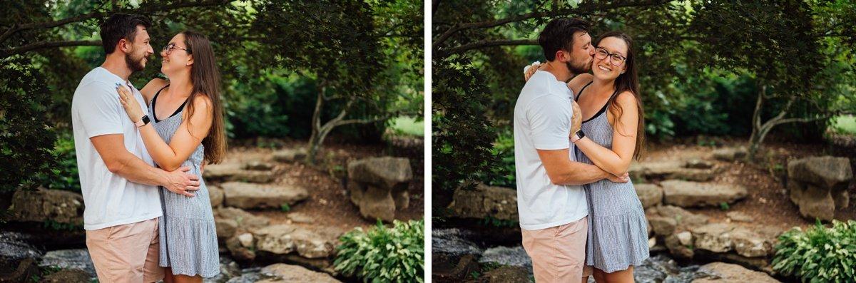 engaged-couple-cheekwood-tn Surprise Proposal at Cheekwood | Patrick and Corrina