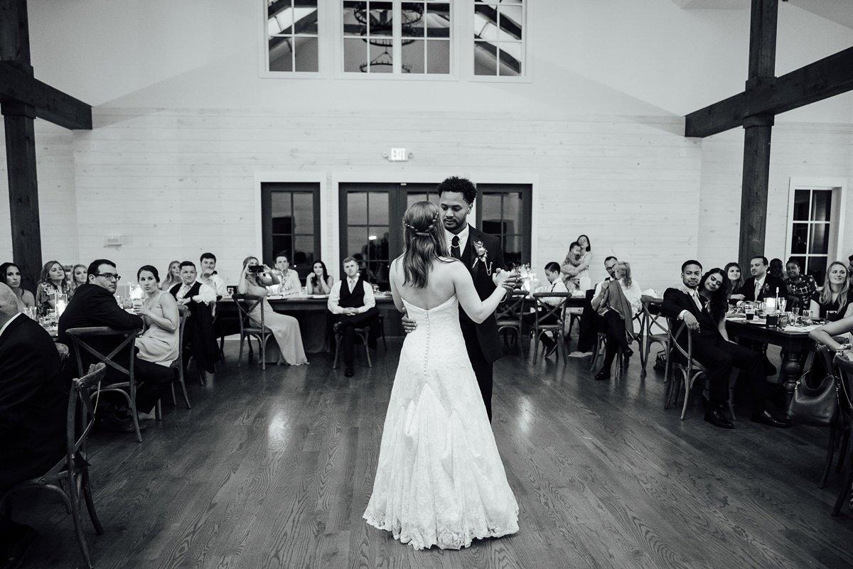first-dance Jessica + Jethro | The Venue at Birchwood | Spring Hill, TN