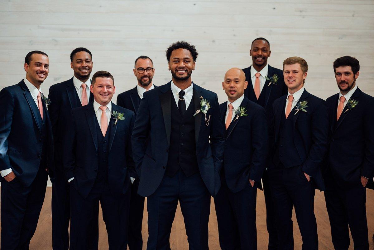 groomsmen Jessica + Jethro | The Venue at Birchwood | Spring Hill, TN