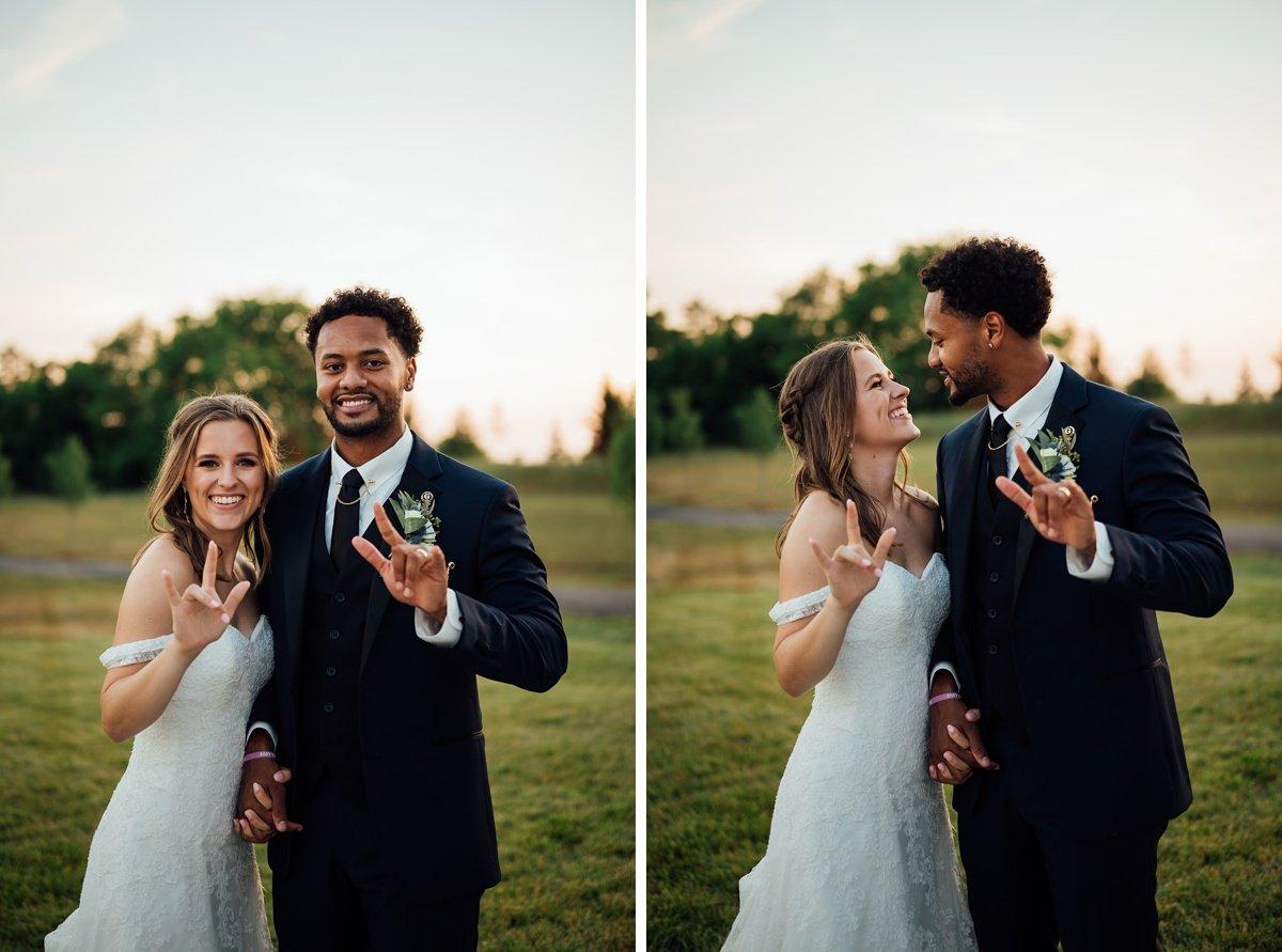 sign-language-love-wedding Jessica + Jethro   The Venue at Birchwood   Spring Hill, TN